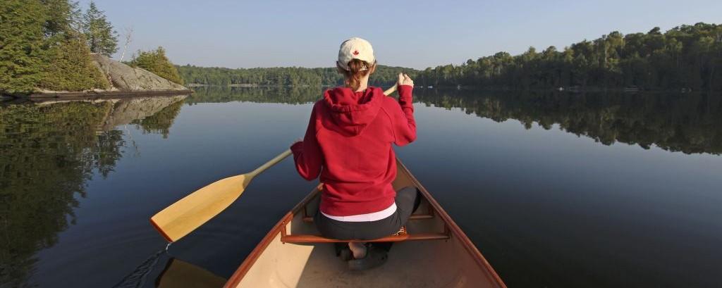 Canoeing in Haliburton, Ontario © Brian Lasenby   Dreamstime 50803902