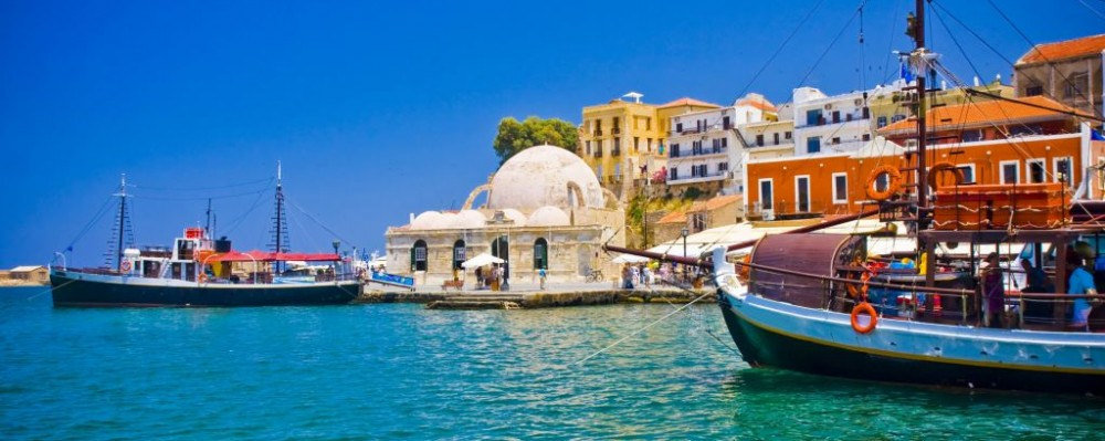 how to travel to crete greece