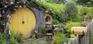 Hobbiton from Lord of the Rings in New Zealand © Yobro10 | Dreamstime 48835970
