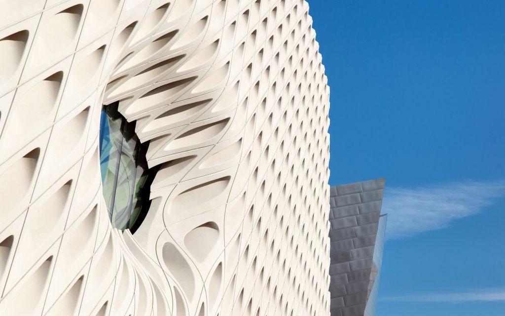 The Broad Museum, Los Angeles, California © Stevehymon | Dreamstime 60573419