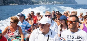 Tourists in Capri, Italy © Eugenesergeev | Dreamstime 59025085
