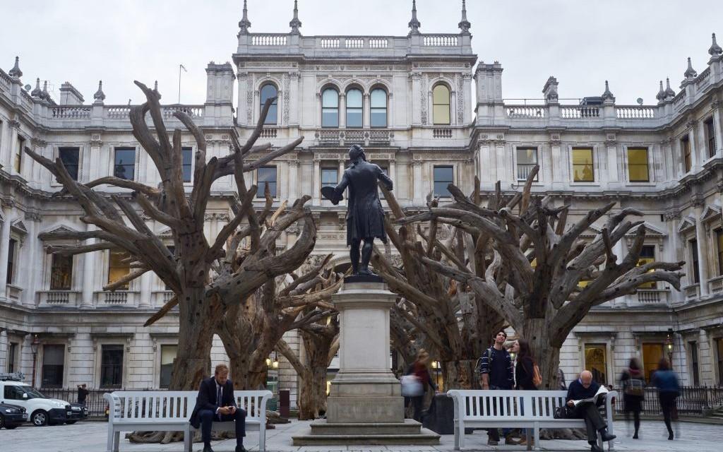 Ai Weiwei's Tree at the Royal Academy of Arts, London, United Kingdom © Fernando Carniel Machado   Dreamstime 60488308