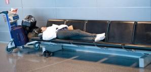 Airport Sleep © Alenmax | Dreamstime 21552720