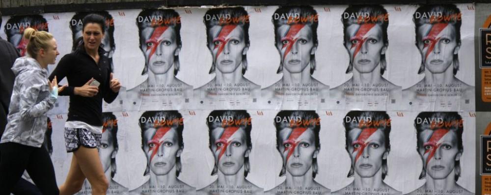 David Bowie in Berlin, Germany © Markwaters | Dreamstime 51335520