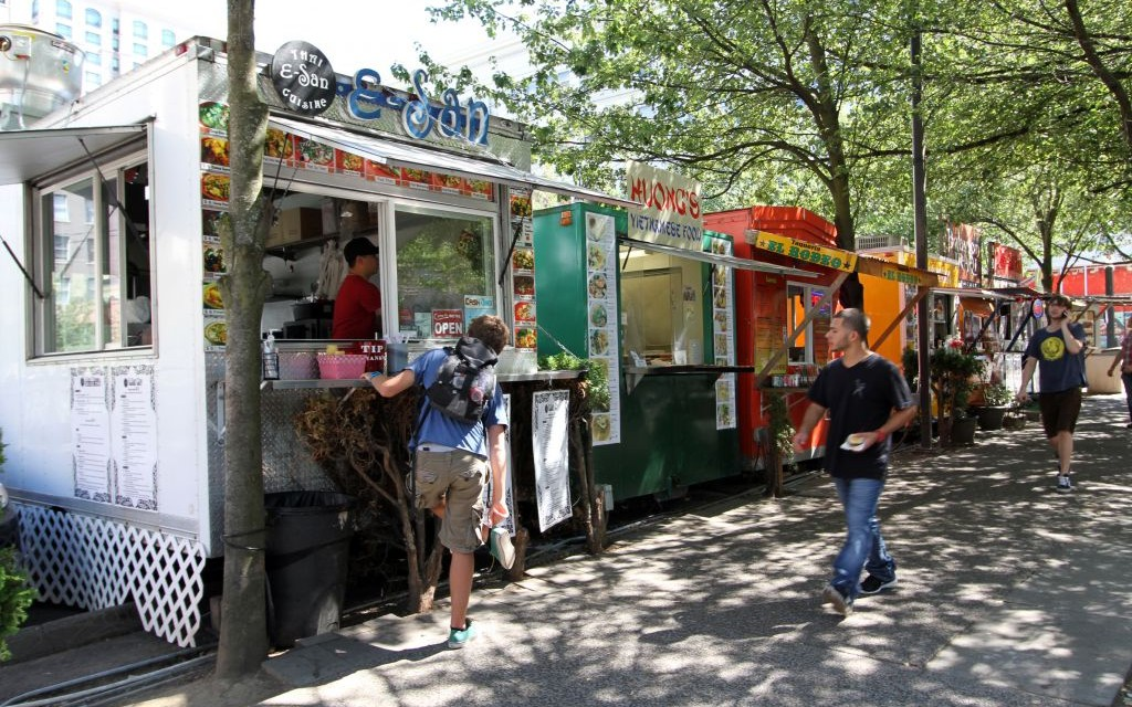 Good Food Trucks In Portland