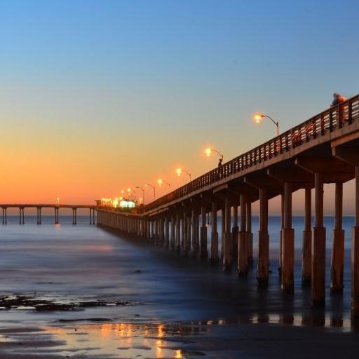 Ocean Beach Pier, San Diego, California © Eiji Fuller | Dreamstime