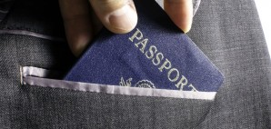 Passport Suit Jacket © Victor Bouchard | Dreamstime 38648075