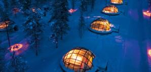 Kakslauttanen, Finland © Greenland Travel   Flickr