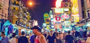 Khao San Road, Bangkok, Thailand © Ioana Grecu | Dreamstime 20907037