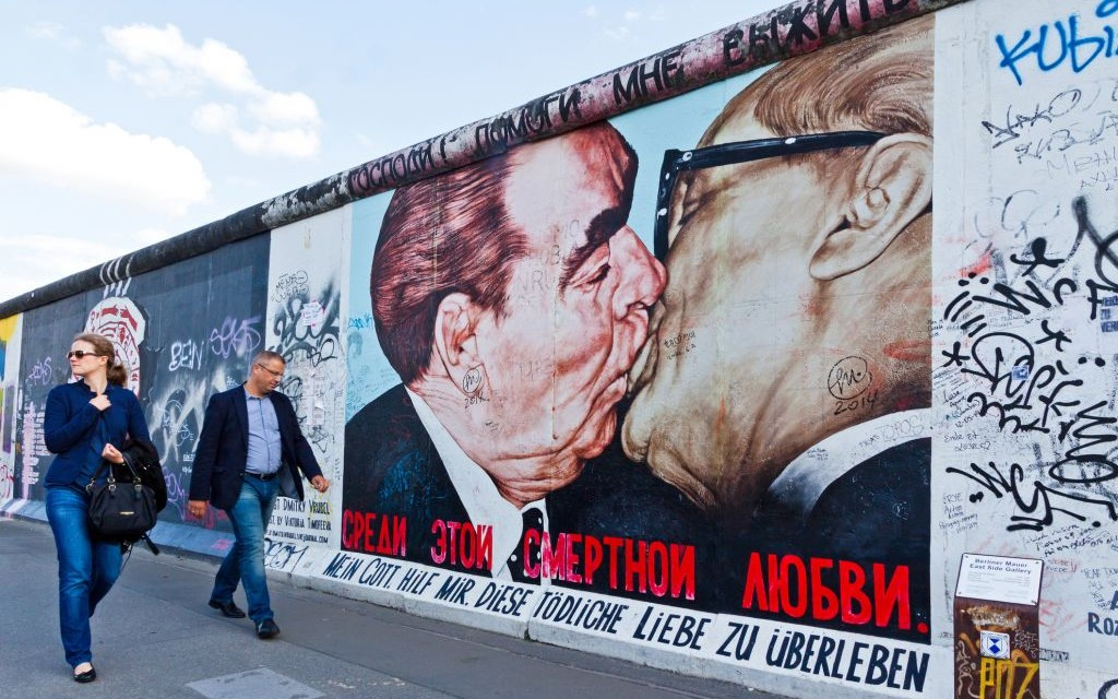 My God, Help Me to Survive This Deadly Love by Dmitri Vrubel, East Side Gallery, Berlin, Germany © Katatonia82 | Dreamstime 46026539
