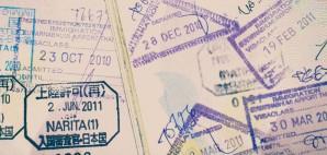 Passport Stamps © Torsakarin | Dreamstime 53449751
