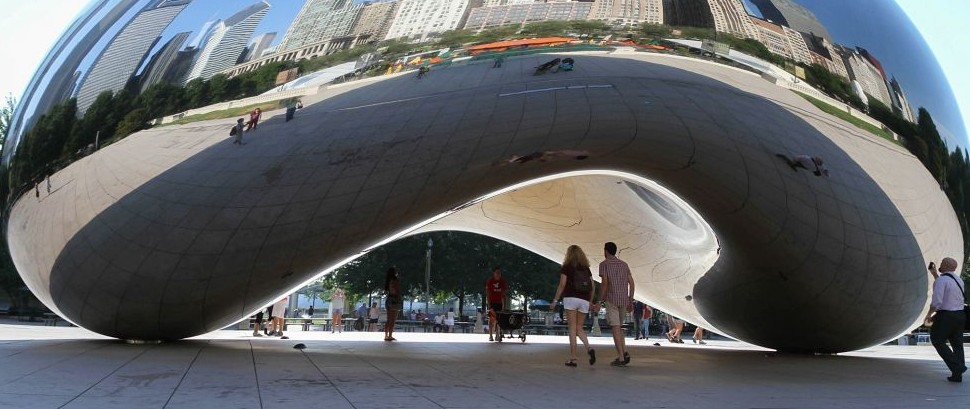 The Bean, Chicago, Illinois © Jillian Cain   Dreamstime 59047728