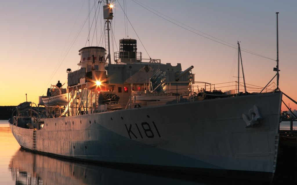HMCS Sackville, Halifax Maritime Museum, Nova Scotia, Canada © Kevinbrine | Dreamstime 42599731
