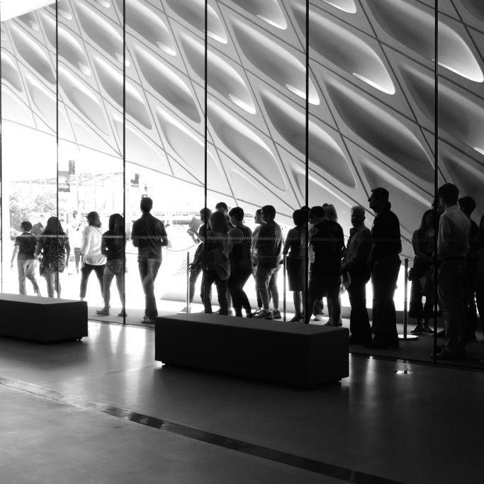 The Broad Museum, Los Angeles, California © Marie Velde | Dreamstime 59691405