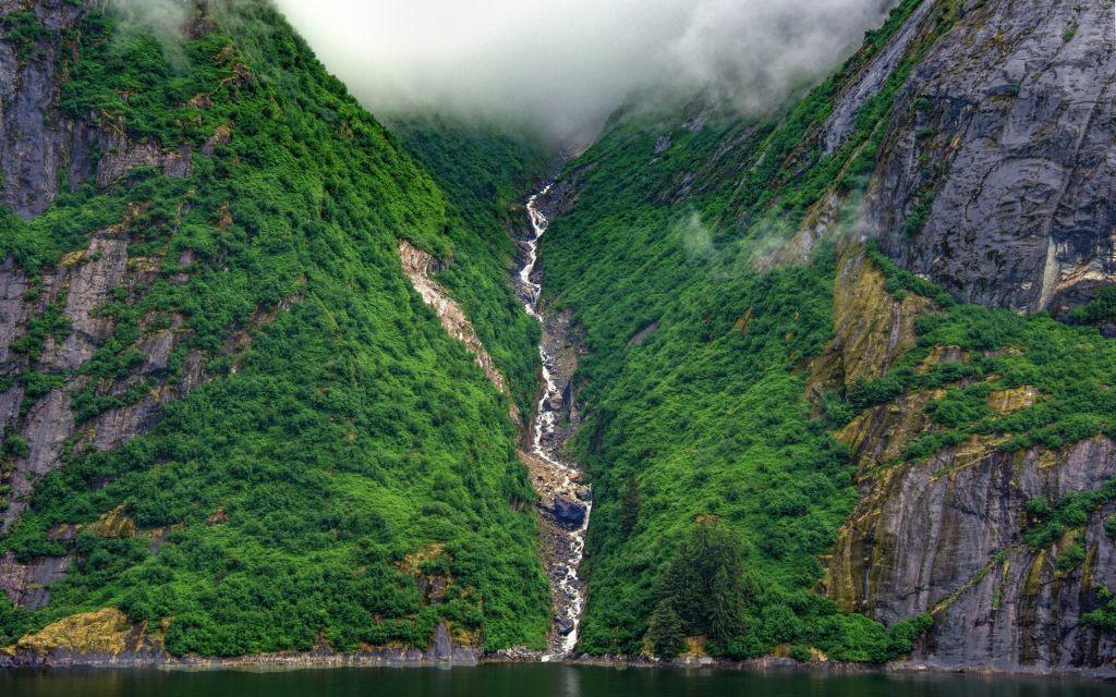 Tracy's Arm Fjord, Tongass National Forest, Alaska © Jmlevi2   Dreamstime 57969010