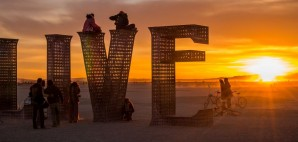 Burning Man, Black Rock City, Nevada © Kringsj | Dreamstime 70790508