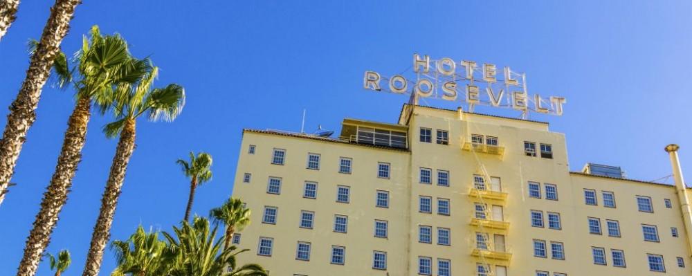 Hotel Roosevelt, Los Angeles, California © Jorg Hackemann | Dreamstime 36843569