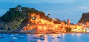Tossa de mar, Costa Brava, Spain © Pavel Kavalenkau | Dreamstime 73129717