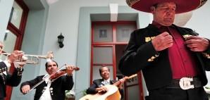 Mariachi in Puebla, Mexico © Rafael Ben-ari | Dreamstime 44389694