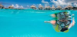 Snorkeling in Bora Bora © Alexander Shalamov | Dreamstime 47429213
