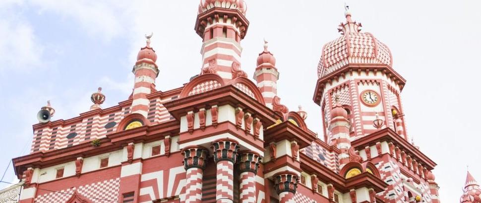 Jami Ul Alfar Mosque, Colombo, Sri Lanka © Shariff Che'lah | Dreamstime 11448190