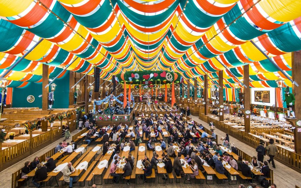 The Hippodrom Beer Tent presented by Spaten-Franziskaner-Bräu at Oktoberfest © Sepavo |  sc 1 st  Trazee Travel & Trazee Travel | Biggest and Best Tents at Oktoberfest - Trazee Travel
