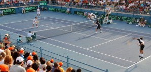 Davis Cup in Cyprus © Michalakis Ppalis | Dreamstime