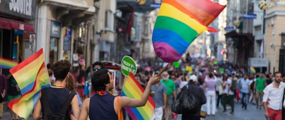 LGBT Pride in Istanbul, Turkey © Evren Kalinbacak | Dreamstime 42306223