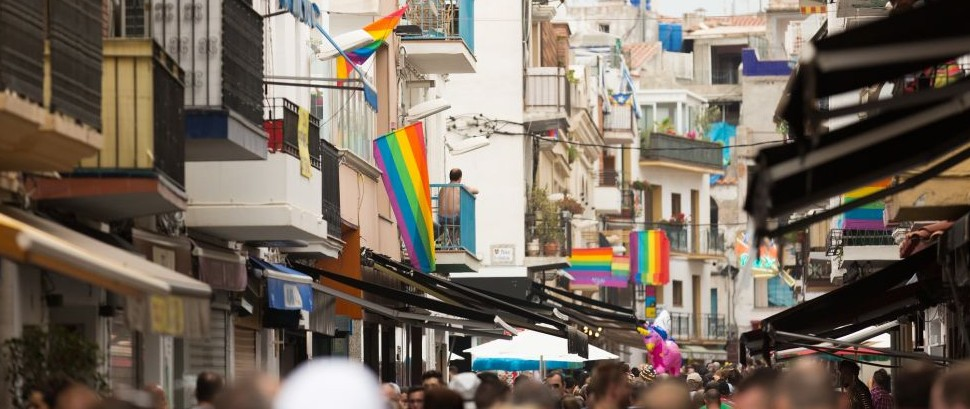 LGBT Pride in Sitges, Spain © Iakov Filimonov | Dreamstime 43292188