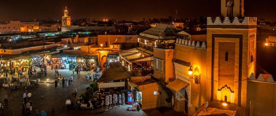 Marrakech, Morocco © Cesare Antonio Palma | Dreamstime 78011014