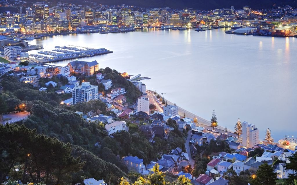 Wellington, New Zealand © Travelling-light | Dreamstime 25329079