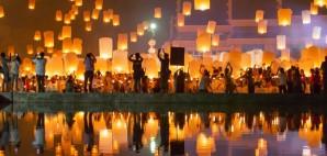Lantern Festival, Chiang Mai, Thailand © Aliaksandr Mazurkevich | Dreamstime 47797816