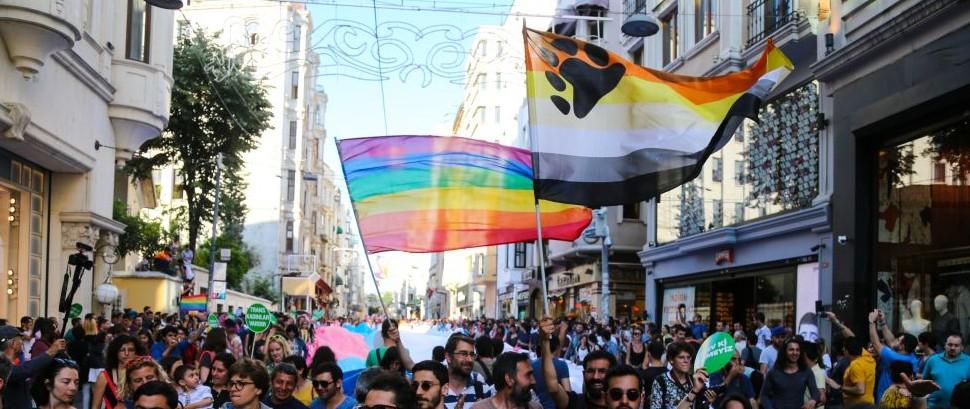 Transgender Pride in Istanbul, Turkey © Evren Kalinbacak | Dreamstime 56505043
