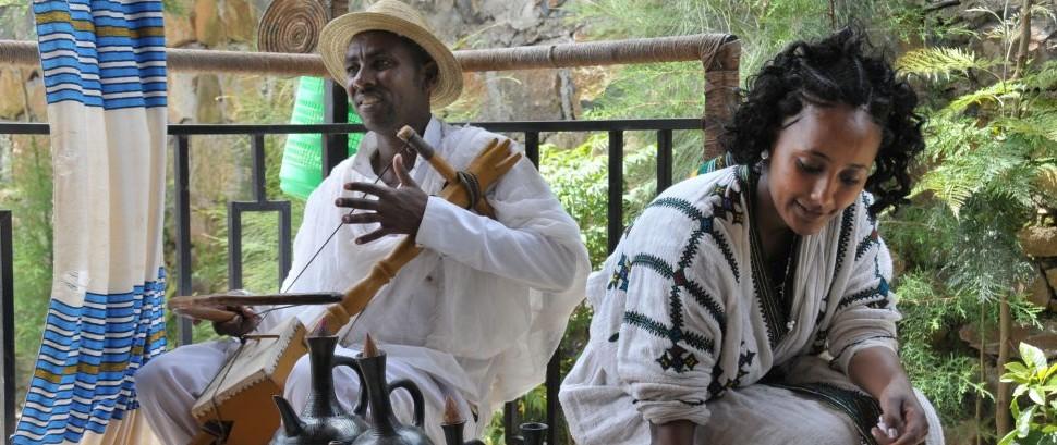 Coffee Ceremony in Axum, Ethiopia © Elena Luria | Dreamstime 35621631