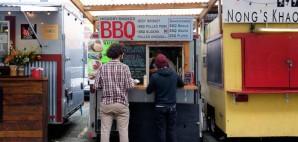 Food Trucks in Portland, Oregon © Joshua Rainey   Dreamstime 68445900