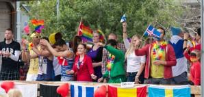 Gay Pride in Reykjavik, Iceland © Bragi Kort | Dreamstime 51088755