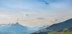 Hang Gliding Over Interlaken, Switzerland © Maryna Patzen | Dreamstime 80317318
