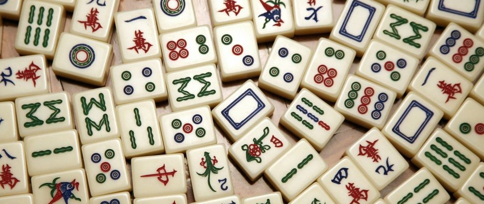 Mahjong © Onion   Dreamstime 6022881