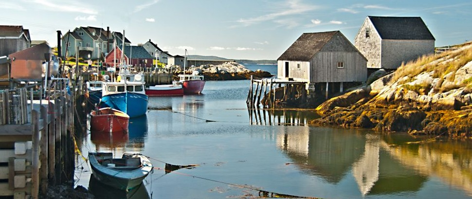 Nova Scotia Harbor © Sam Sherman   Dreamstime 57541841
