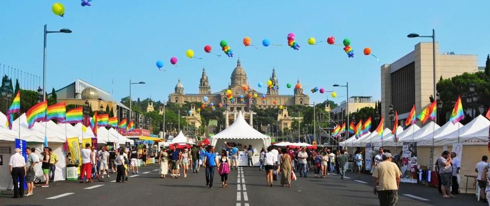 Pride Barcelona, Spain © Juan Moyano | Dreamstime 25538800