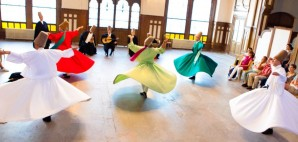 Whirling Dervishes in Serkeci Train Station, Istanbul, Turkey © Evan Spiler | Dreamstime