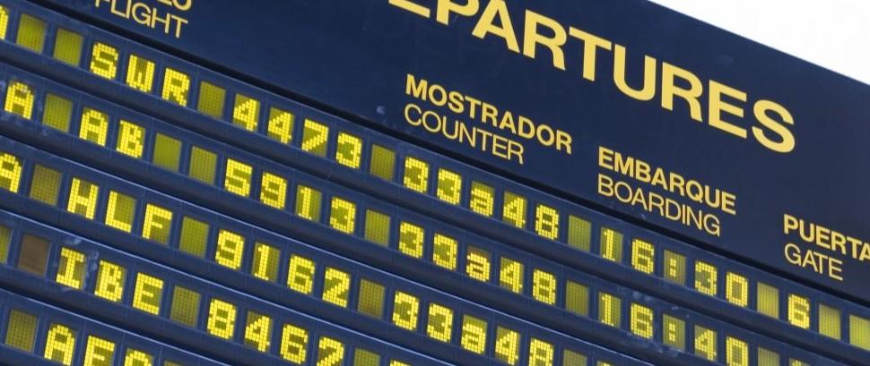 Airport Departures © Carolina | Dreamstime 635444