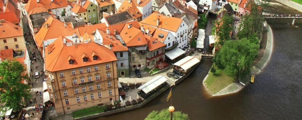 Český Krumlov, Czech Republic © Maryna Kordiumova | Dreamstime 37428155