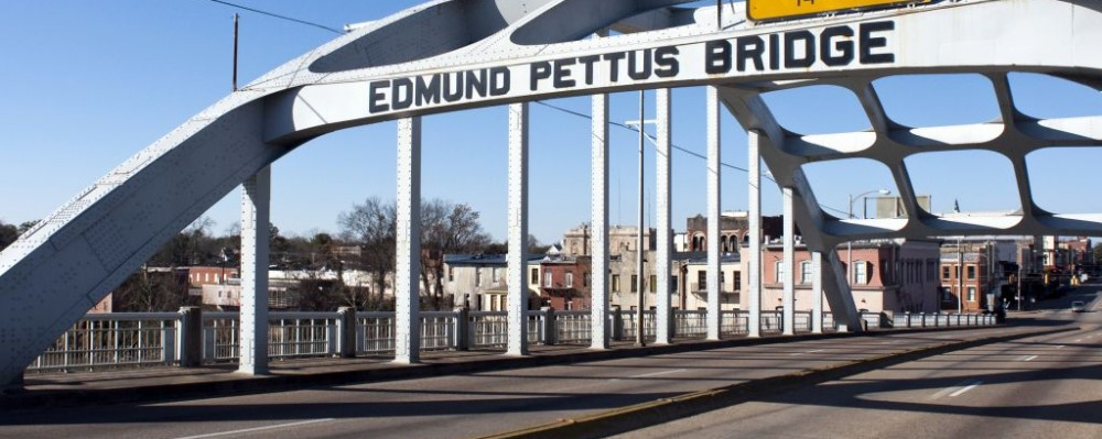 Edmund Pettus Bridge, Selma, Alabama © Wellesenterprises | Dreamstime 12576836