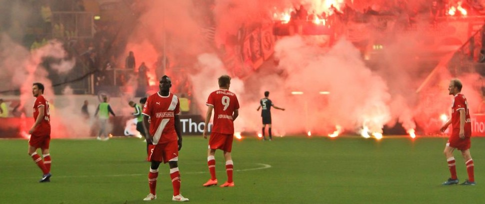 Fortuna Dusseldorf vs. Hertha BSC Berlin © Davesfreelancephotos | Dreamstime 24827167