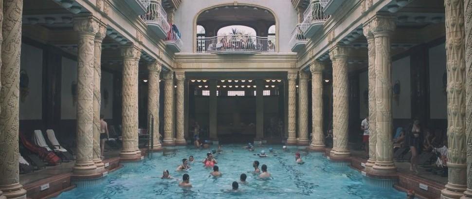 Gellért Baths, Budapest, Hungary © Luca Ambrosino | Dreamstime 64076076
