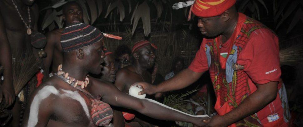 Iboga Ritual in Bwiti, Gabon © Grodza   Dreamstime 53870840
