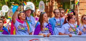 LGBTQ Pride in Portland, Oregon © Peng Ge   Dreamstime 81191240