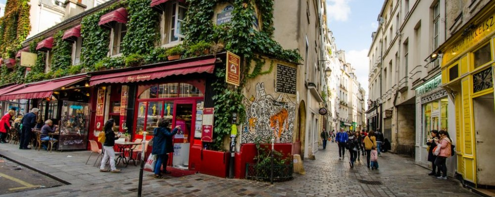Marais, Paris, France © Lembi Buchanan | Dreamstime 46809622