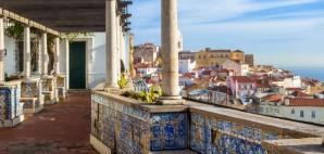 Miradouro de Santa Luzia, Lisbon, Portugal © Roberta Patat | Dreamstime 29161468